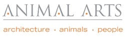 Animal Arts Logo White 600dpi