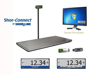 shor-line shor-connect scale