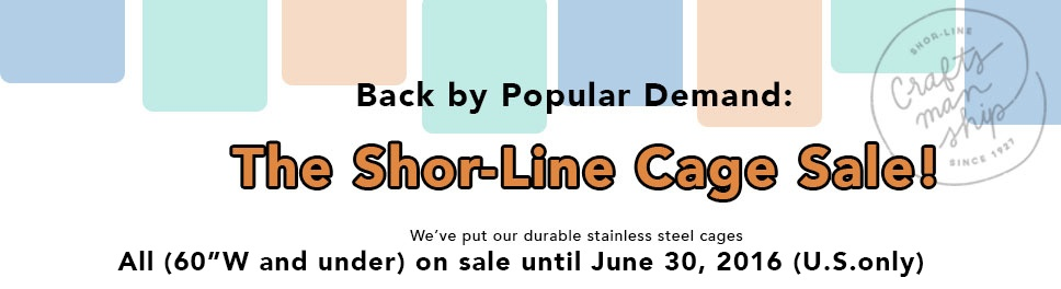 Shor-Line Year End Sale 2015